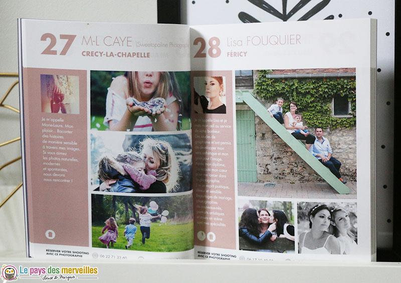 pages du livret la shooting box famille