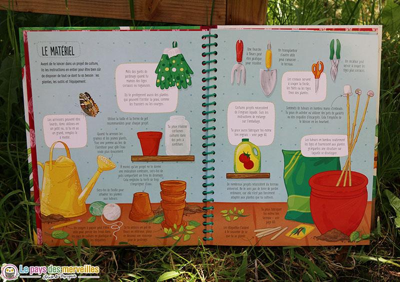 Matériel simple pour jardiner