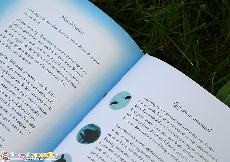 """glossaire du livre """"tout un monde sous l'eau"""""""