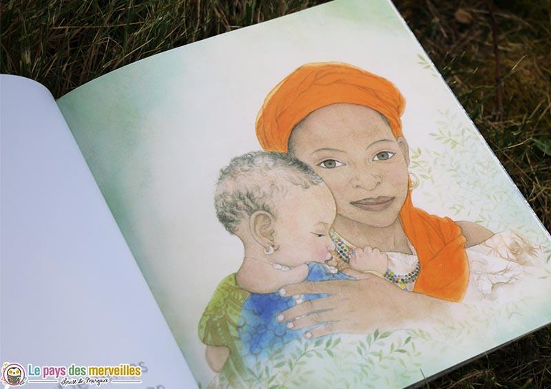 """Illustration du livre """"À quoi rêves-tu bébé"""""""