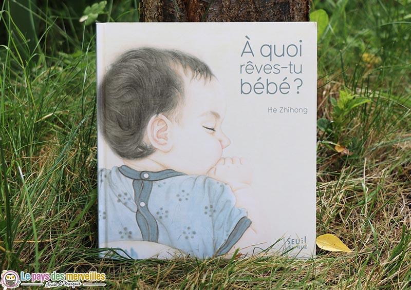 """Couverture du livre """"À quoi rêves-tu bébé ?"""""""