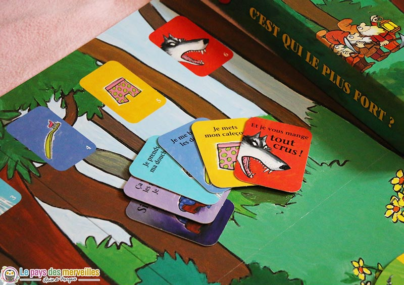 Cartes actions du loup