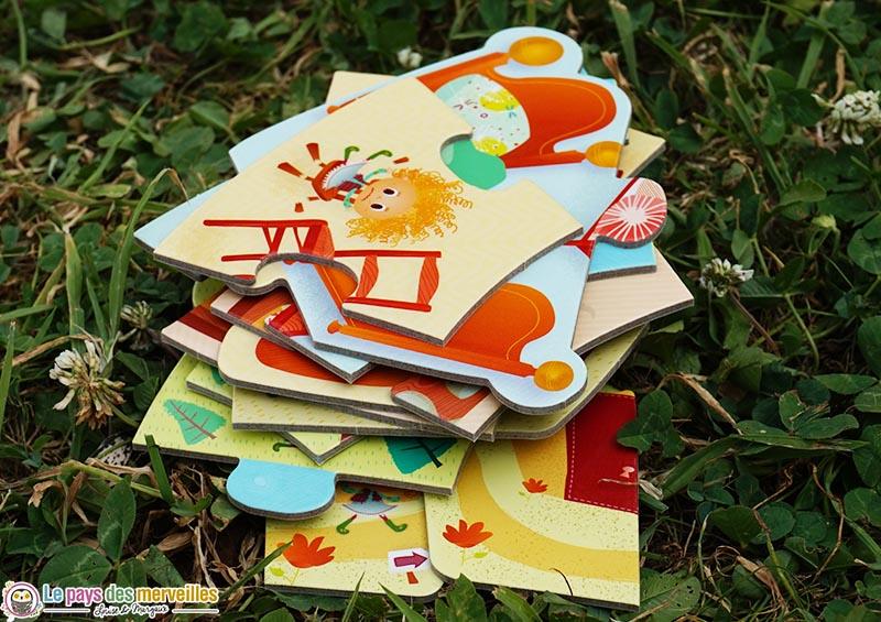 pièces du puzzle Boucle d'or de la marque Lilliputiens