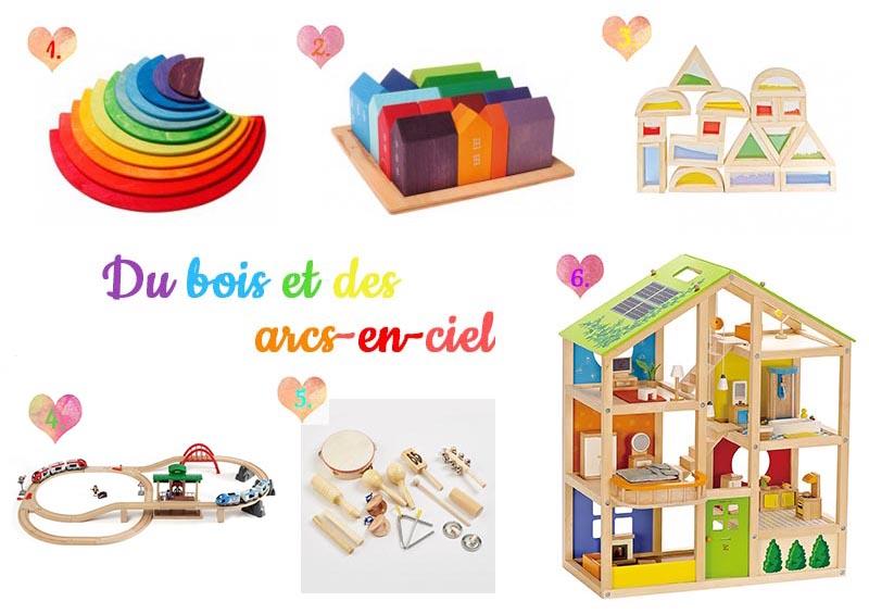 idées de cadeaux en bois pour petite fille de 3 ans