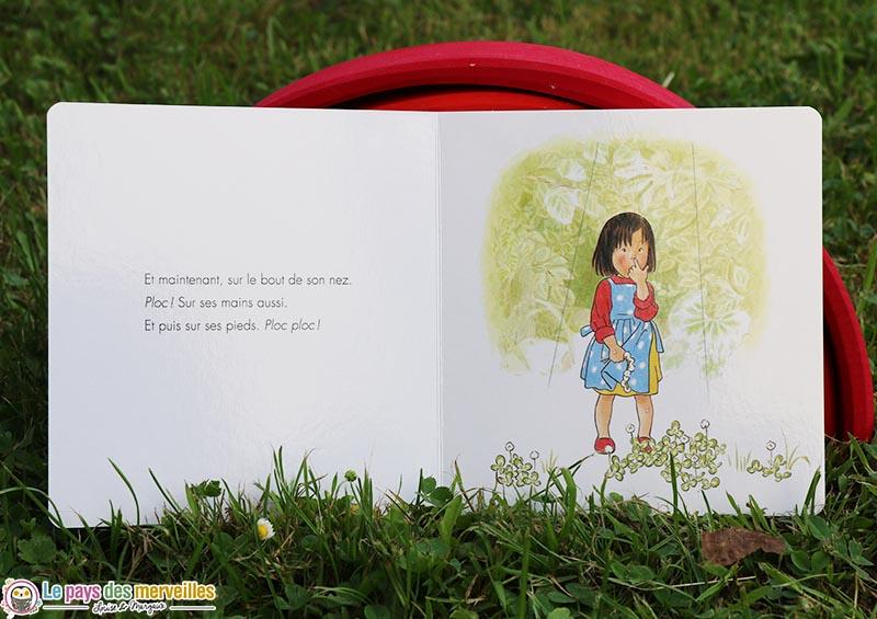 """illustrations du livre """"Ma cabane de feuilles"""""""