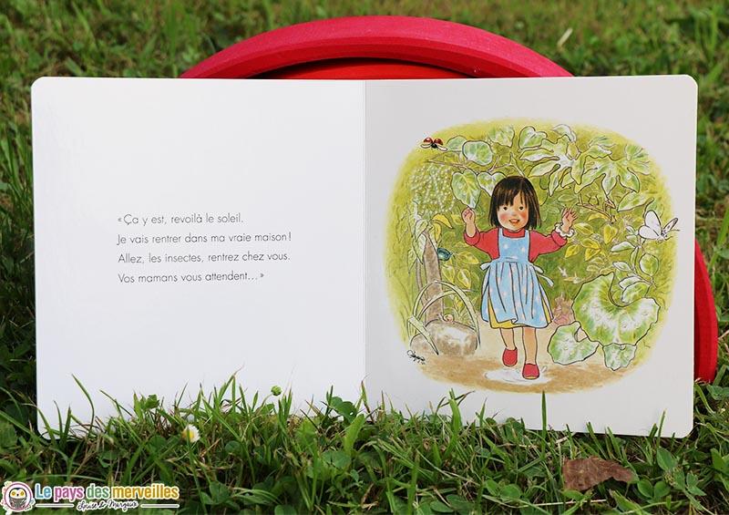 """final du livre """"Ma cabane de feuilles"""""""