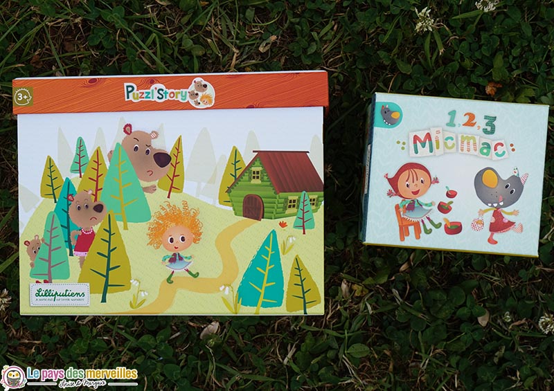 Puzzl'Story et 1,2,3 Micmac