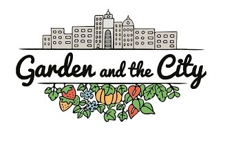Logo garden and the city