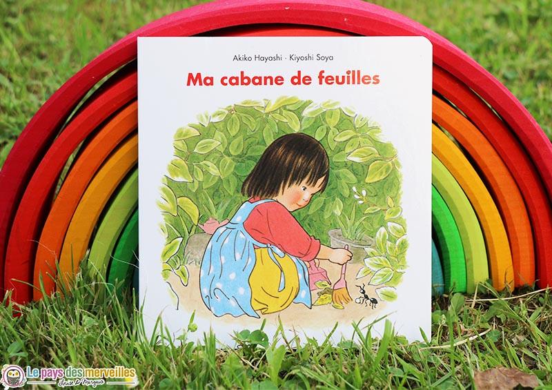 """Première de couverture du livre """"Ma cabane de feuilles"""""""