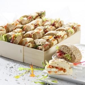 mini sandwichs aux saveurs variées
