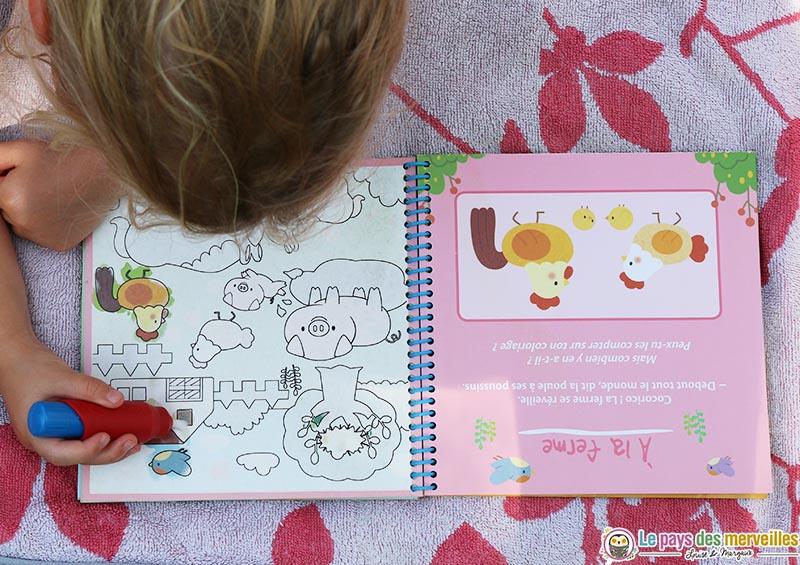 livre d'activité pour les tout-petits