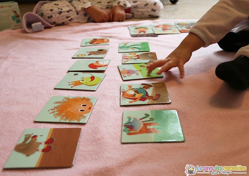 jeu de cartes pour les enfants de 3 ans