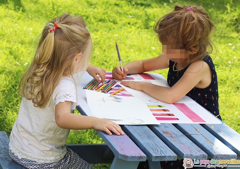 dessin de maternelle pour la fête des pères