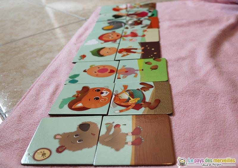 Personnage de contes à reconstituer avec des cartes