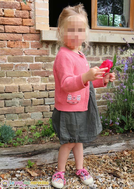 Margaux et ses bouquets de fleurs