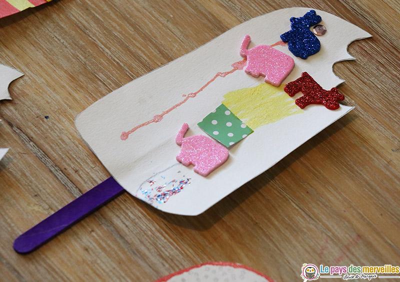 invitation à créer enfant 3 ans