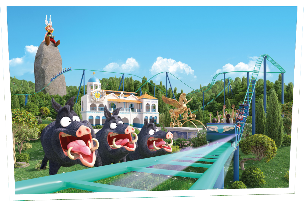 nouveautés du parc Astérix pégase express