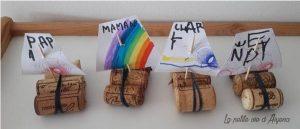 bateaux réalisés avec des bouchons de liège