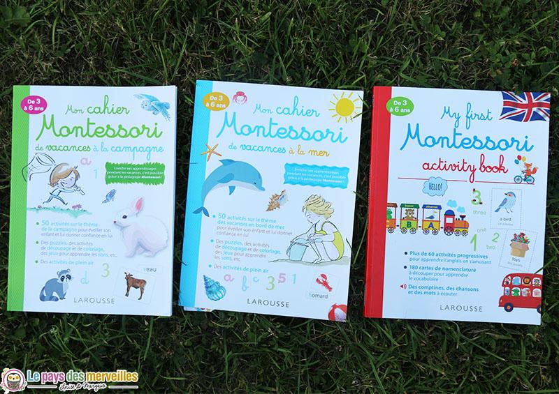 Cahiers d'activités Montessori