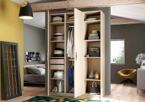 armoire de rangement sur mesure avec 1 porte