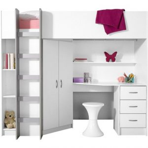 10 id es pour organiser l 39 espace d 39 une petite chambre d 39 enfant. Black Bedroom Furniture Sets. Home Design Ideas