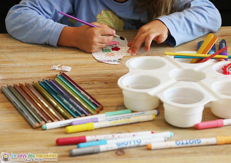 matériel créatif pour les enfants