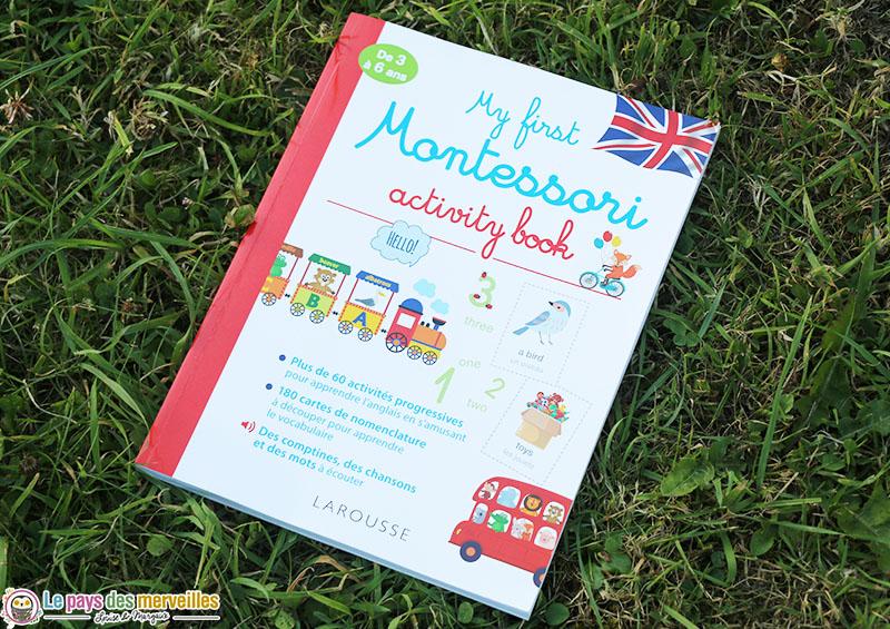 cahier d'activités montessori anglais