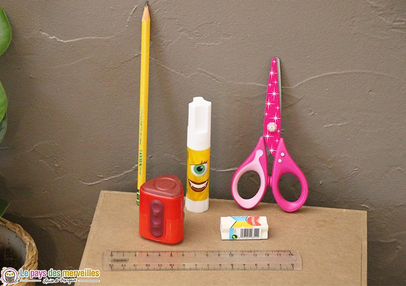 Materiel de base pour créer avec les enfants