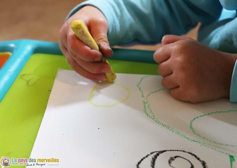 graphisme de maternelle : les spirales