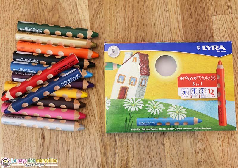 Crayons LYRA Groove Triple 1