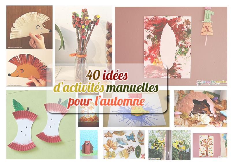 40 Idées Dactivités Pour Lautomne