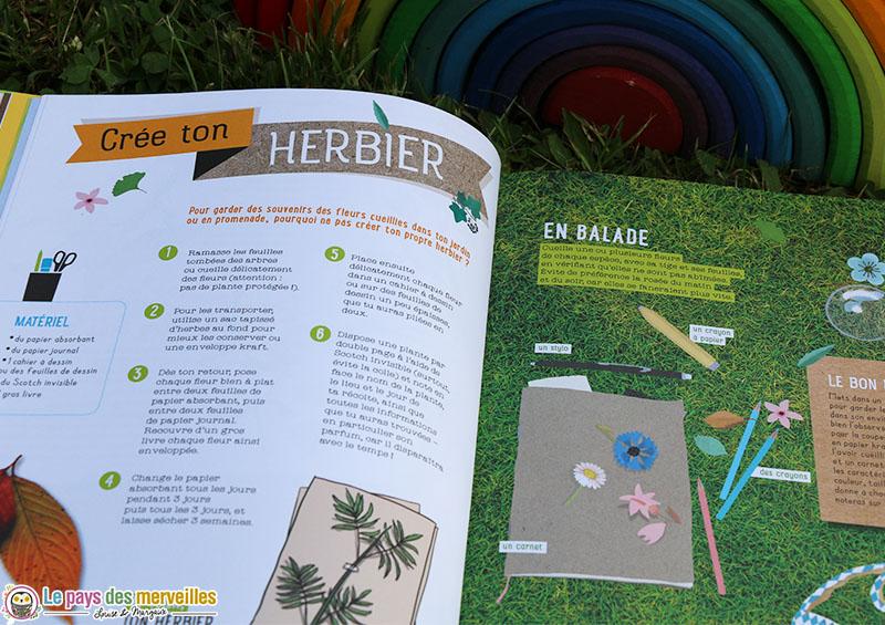 Créer un herbier