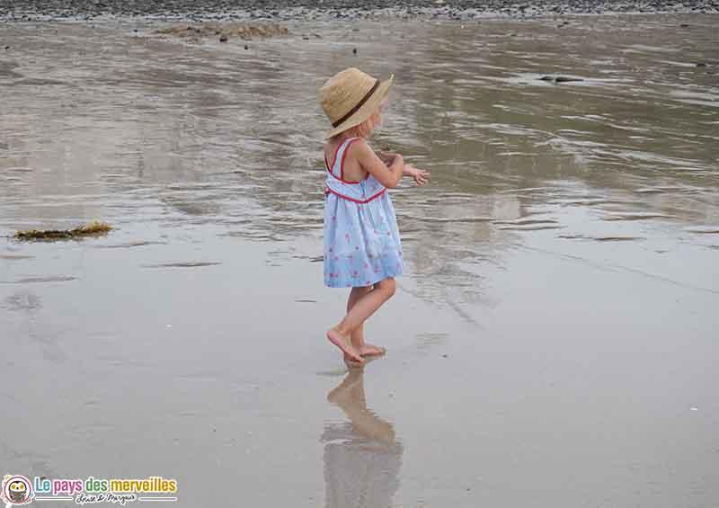 marée basse Domville les bains