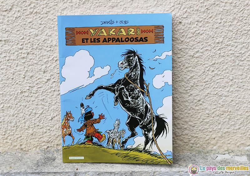 Yakari et les Appaloosas
