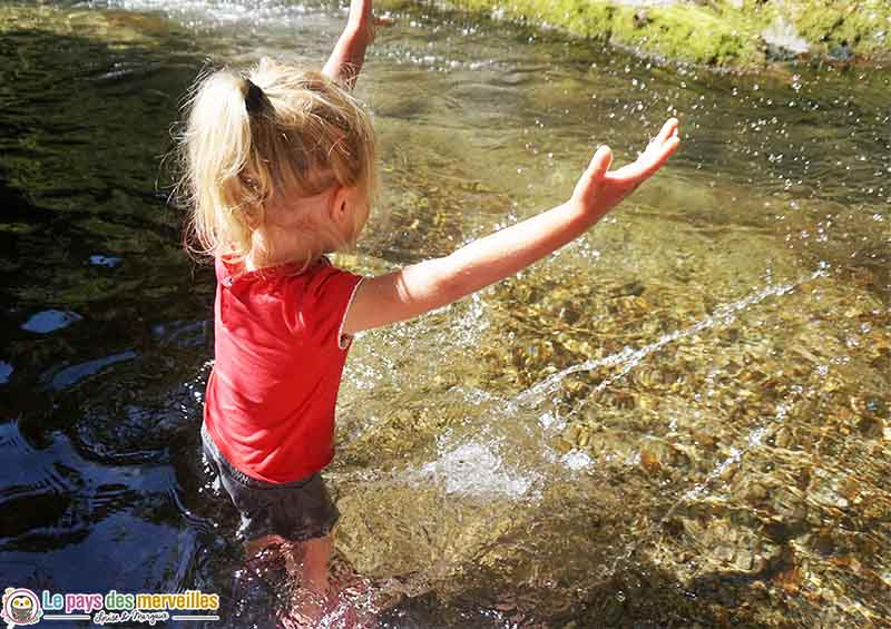 baignade dans les Gorges du Cady