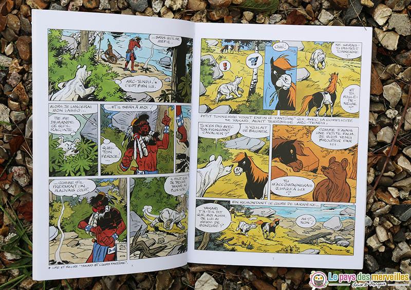 Bande dessinée Yakari et les Appaloosas