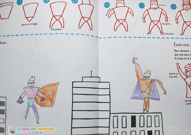 Comment dessiner un super héro