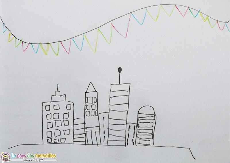 Dessiner une ville pas à pas