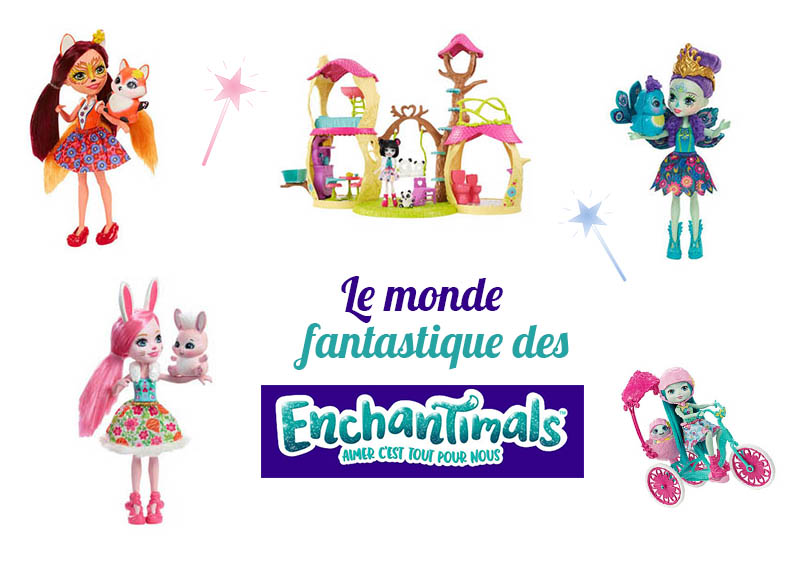 poupées enchantimals