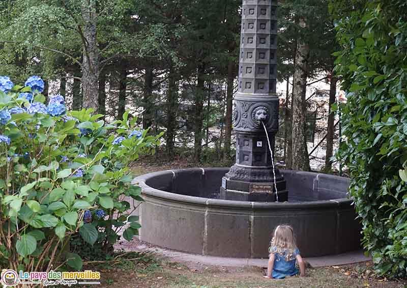 fontaine volvic