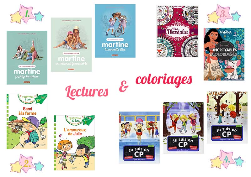 anniversaire 6 ans lectures et coloriages