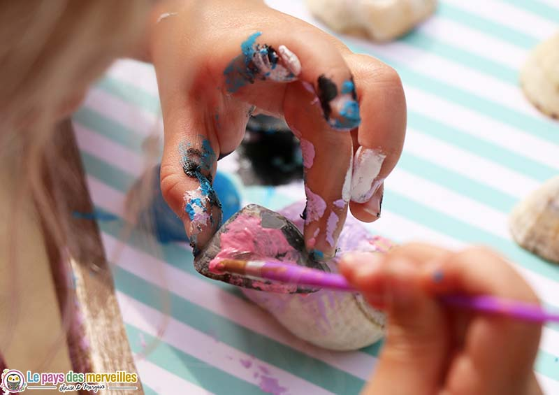 Peindre des patelles