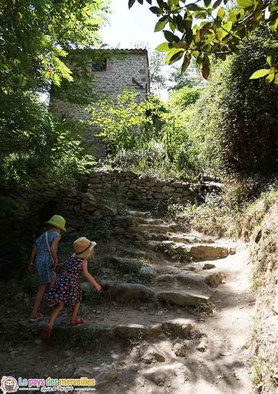 Randonnée avec des enfants à Laroque-des-Albères