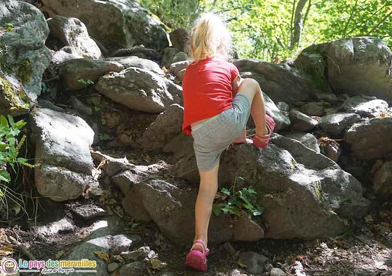 Randonnée avec des enfants dans les Gorges du Cady