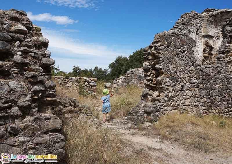 Ruines randonnée à Laroque-des-Albères