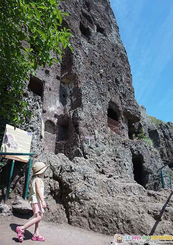 Grottes de Jonas en famille