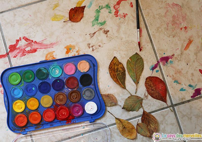 nettoyage activité peinture enfant
