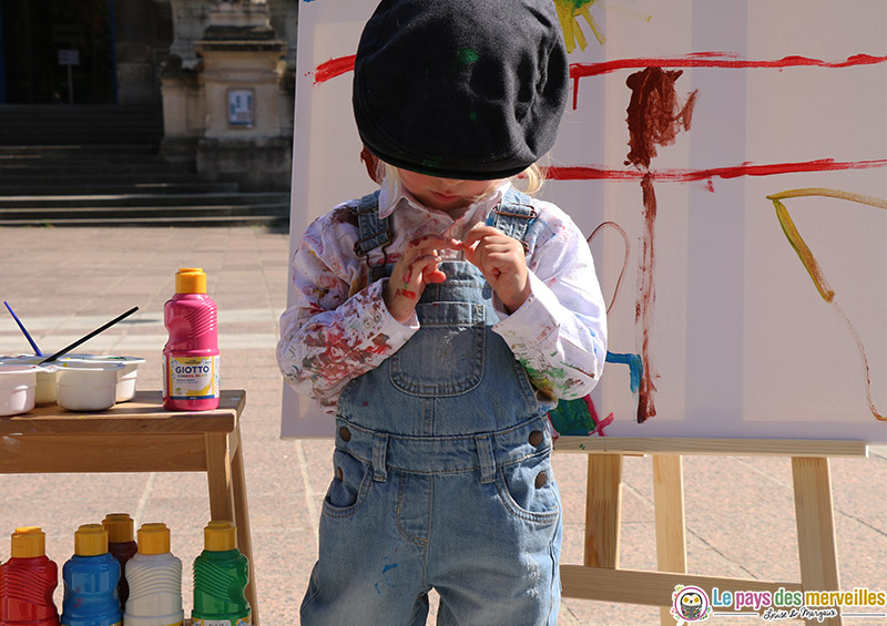 Deguisement enfant peintre