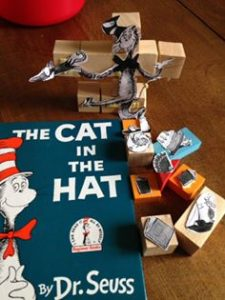 Construction the cat in the hat