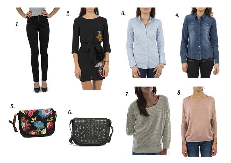 Sélection vêtements et accessoires femme sur le site Jean Station